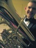 Picture of me, John Garbutt, playing the tuba