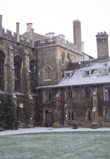 Old Court in the snow